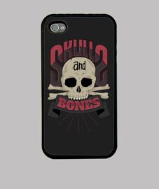 cráneos y huesos iphone 4