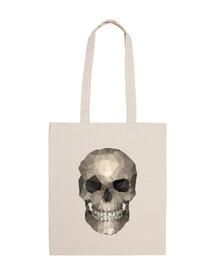 cranio - borsa di stoffa di cotone 100