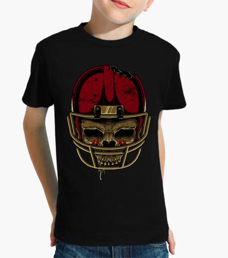 Abbigliamento bambino cranio di football americano