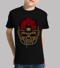 cranio di football americano