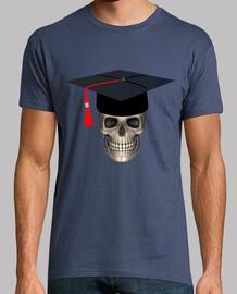 Cranio universitario con mortarboard