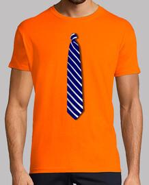 cravate bleu