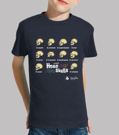 Crazy Homo skulls