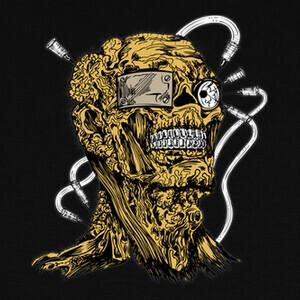 Camisetas crazy skull