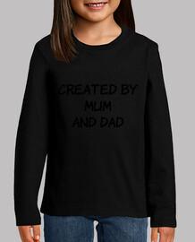 creado por mamá y papá