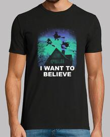 cree en la camisa mágica para hombre