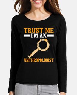 créeme soy antropólogo