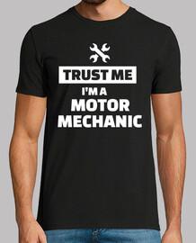 créeme, soy mecánico de motores