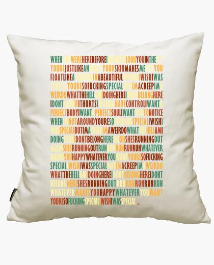 Creep - radiohead cushion cover