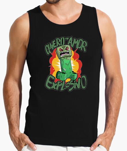 Camiseta Creeper Amoroso, tirantes, Hombre