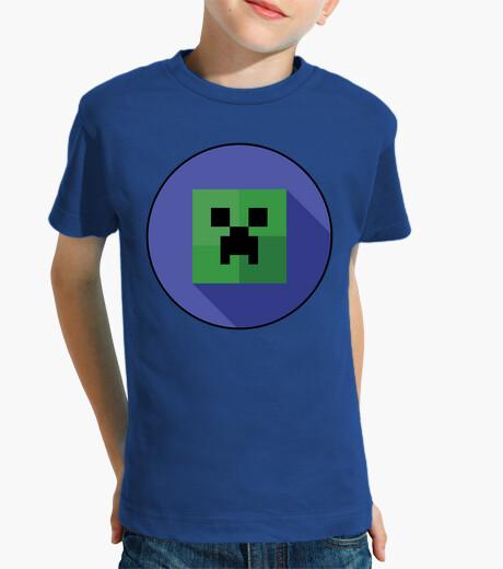Creeper blue (children) kids clothes