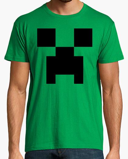 Camiseta Creeper, cara - Minecraft