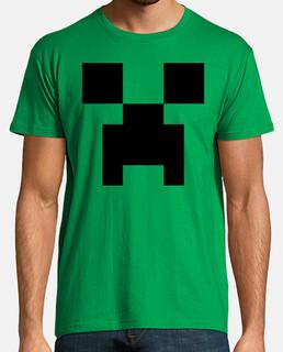 Creeper, cara - Minecraft