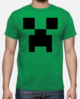 Creeper, cara - Minecraft
