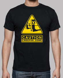 creeper caution zone (black)