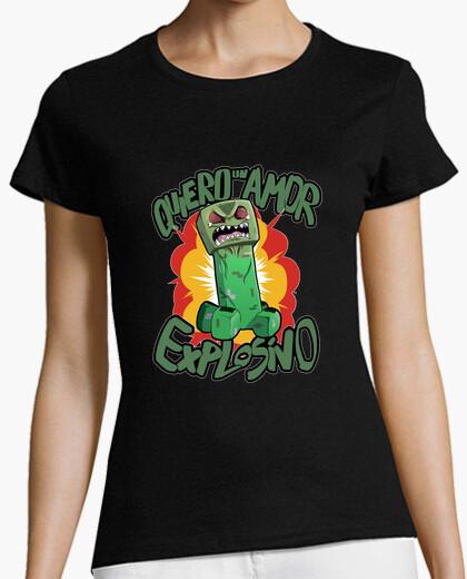 T-shirt creeper donna amorevole