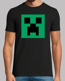 Creeper Face - Camiseta Chico Negra