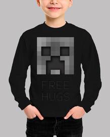 Creeper Free Hugs 2 peque
