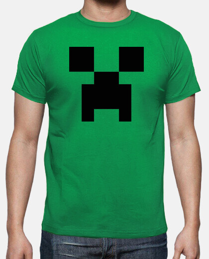 Creeper Minecraft 8 Bits (Camiseta)