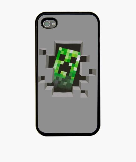 Funda iPhone Creeper Minecraft|TiShox