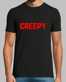 Creepy horror comic logo