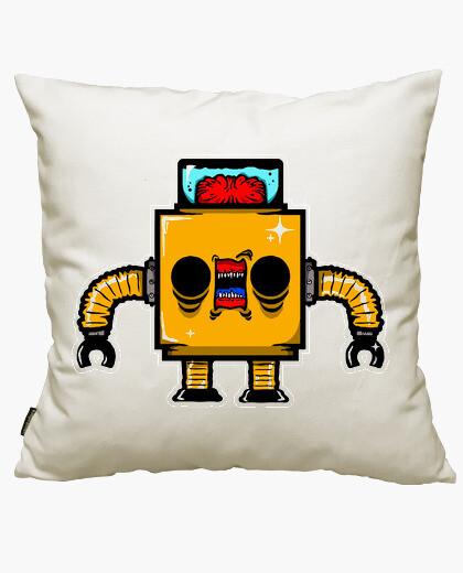Funda cojín Creepy Robot