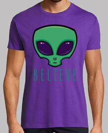 creer cabeza alienígena
