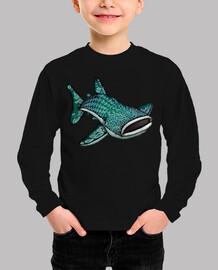 crezca el bebé tiburón ballena