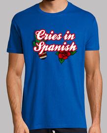 cries in spanisch