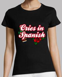cris en espagnol