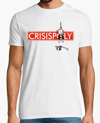 Crisispoly Crisis Monopoly Dinero Humor Fiesta camisetas friki