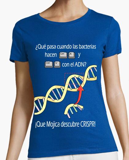 Camiseta CRISPR/Cas9 es el Corta/Pega genético