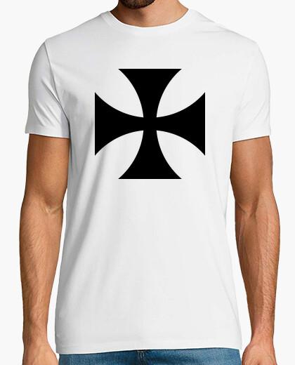 T-shirt croce di ferro nero