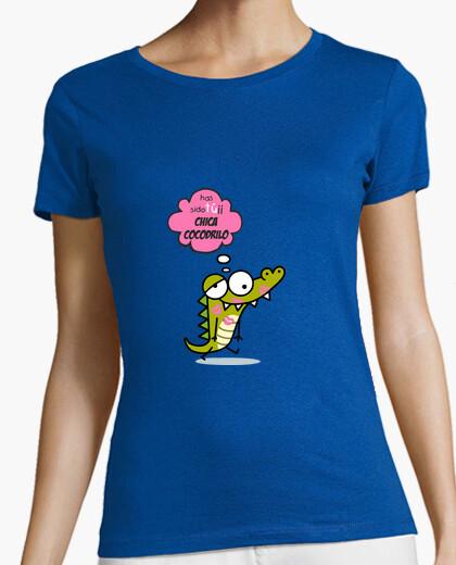 Tee-shirt crocodile  femme