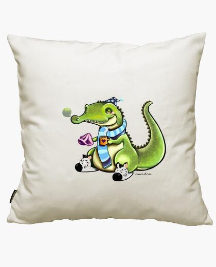 Crocodile cof cof cushion cover