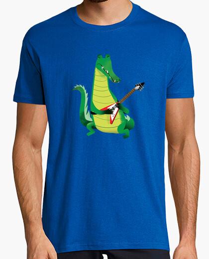 Crocodile Rock in yellow t-shirt