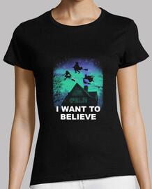 croire en chemise magique femme