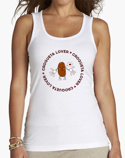 Tee-shirt croquette amant shirt  femme