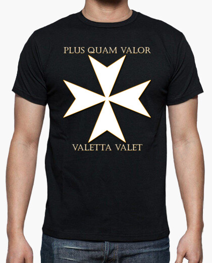 Cross of the order of malta (valletta) t-shirt