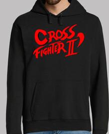Crossfighter - jersey con capucha, Hombre