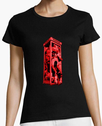 Camiseta Crowded phone box