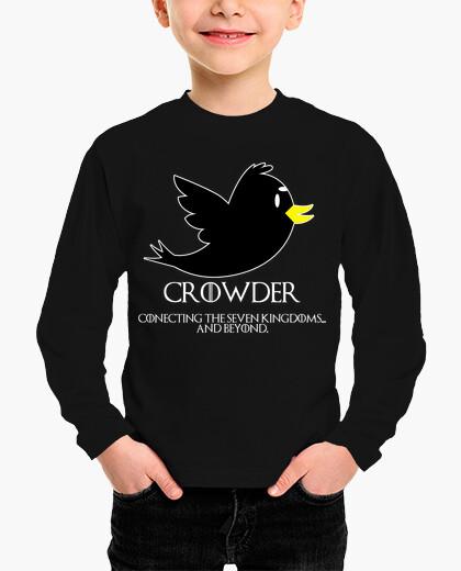 Ropa infantil Crowder - La Red Social De Juego De Tron