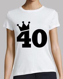 Crown 40th birthday