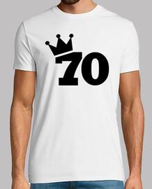 Crown 70th birthday