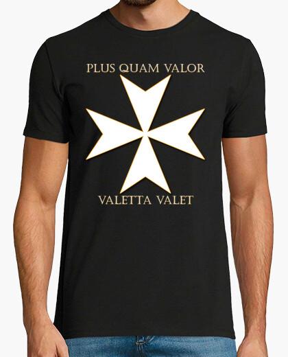 Camiseta Cruz de la orden de Malta (Valetta)