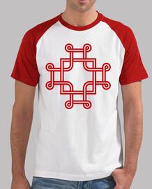 Cruz de Macedonia, rojo