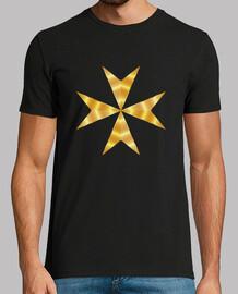 Cruz de Malta dorada