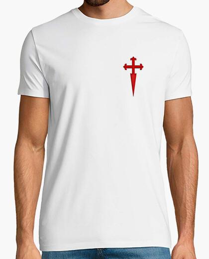 Tee-shirt cruz de santiago