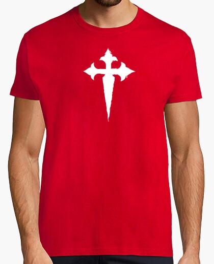 Camiseta CRUZ DE SANTIAGO (BLANCA)