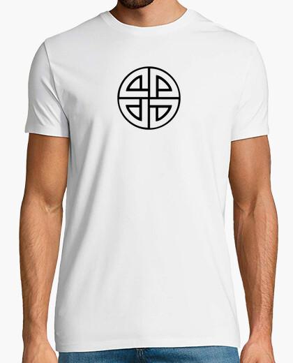Camiseta CRUZ SOLAR Chico, manga corta, blanca